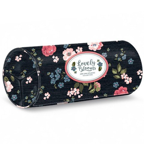 Penar rotund cu velcro Mixed Flowers